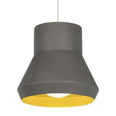 Milo 1 light gray suspension light
