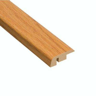 Tacoma Oak 7/16 in. Thick x 1-5/16 in. Wide x 94 in. Length Laminate Carpet Reducer Molding