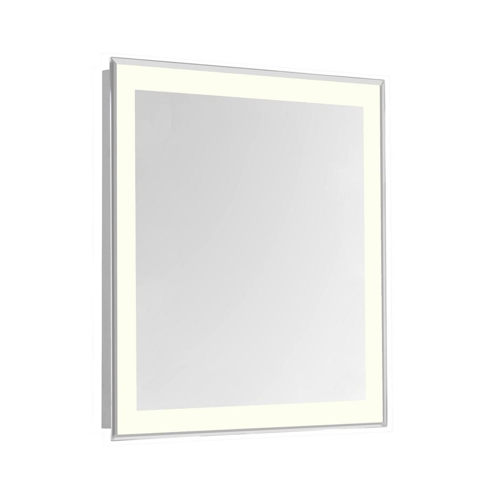 Klein 24 in. x 30 in. 4 Sides LED Edge Wall