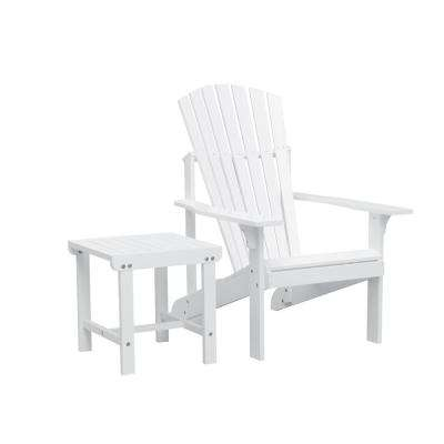 Bradley Patio Wood 2-Piece Conversation Set