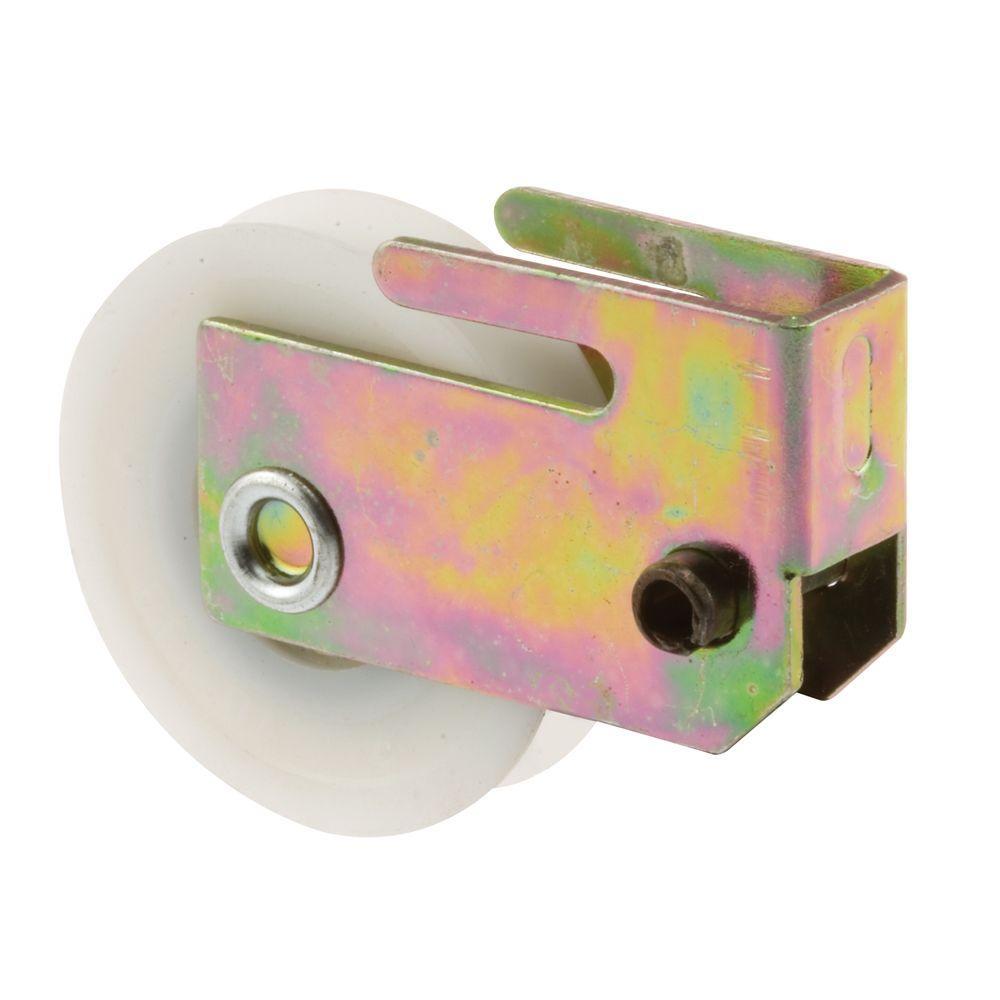 Prime-Line Sliding Door Roller Assembly, 1-1/2 in. Nylon Ball Bearing, 1/2 in. x 1-1/16 Housing