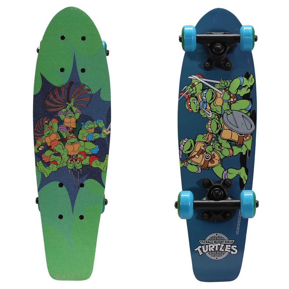 21 in. Teenage Mutant Ninja Turtles Ninja Power Kids Complete Skateboard