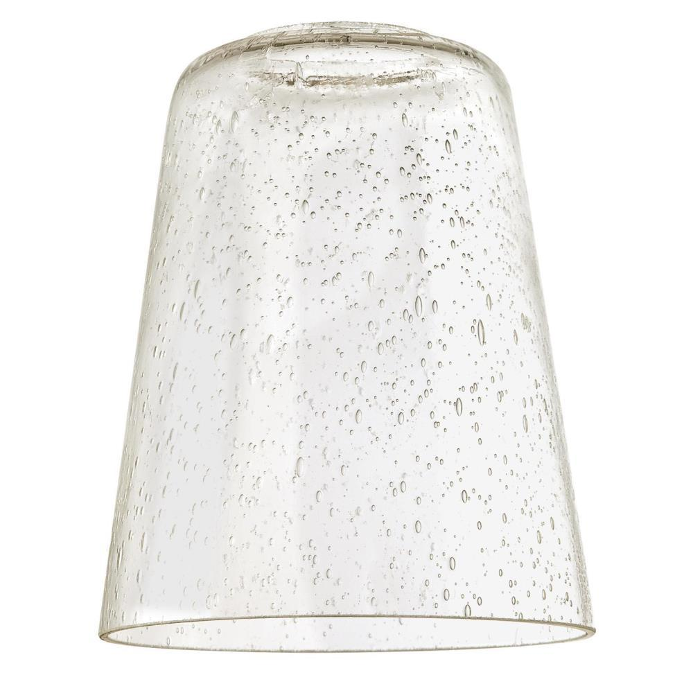 Clear Seeded Cone Shade