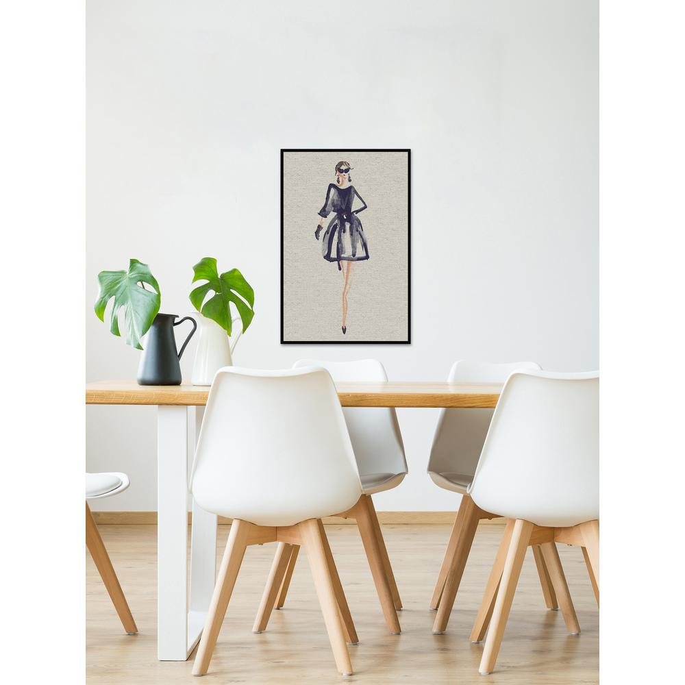 "24 in. H x 16 in. W ""La Moda II"" by Marmont Hill Framed Canvas ..."
