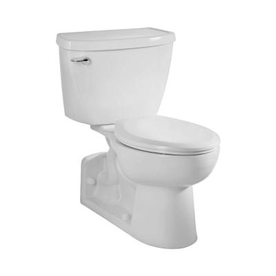 Yorkville FloWise Pressure-Assisted 4 in. Rough-In 2-piece 1.1 GPF Single Flush Elongated Toilet in White