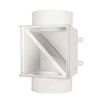 4 in. Dryer Vent Duct Lint Trap
