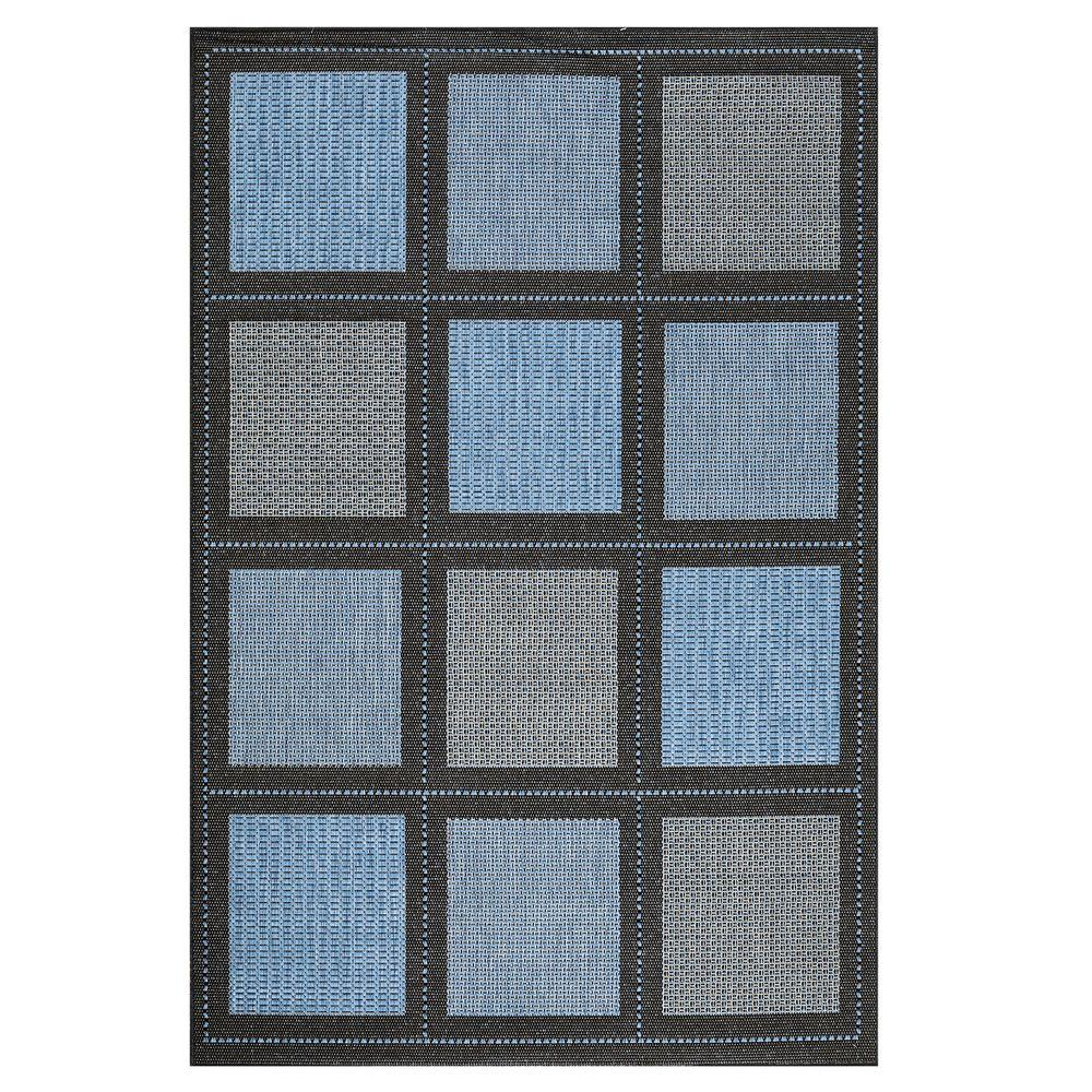 Home Decorators Collection Summit Blue 8 ft. 6 in. x 13 ft. Area Rug