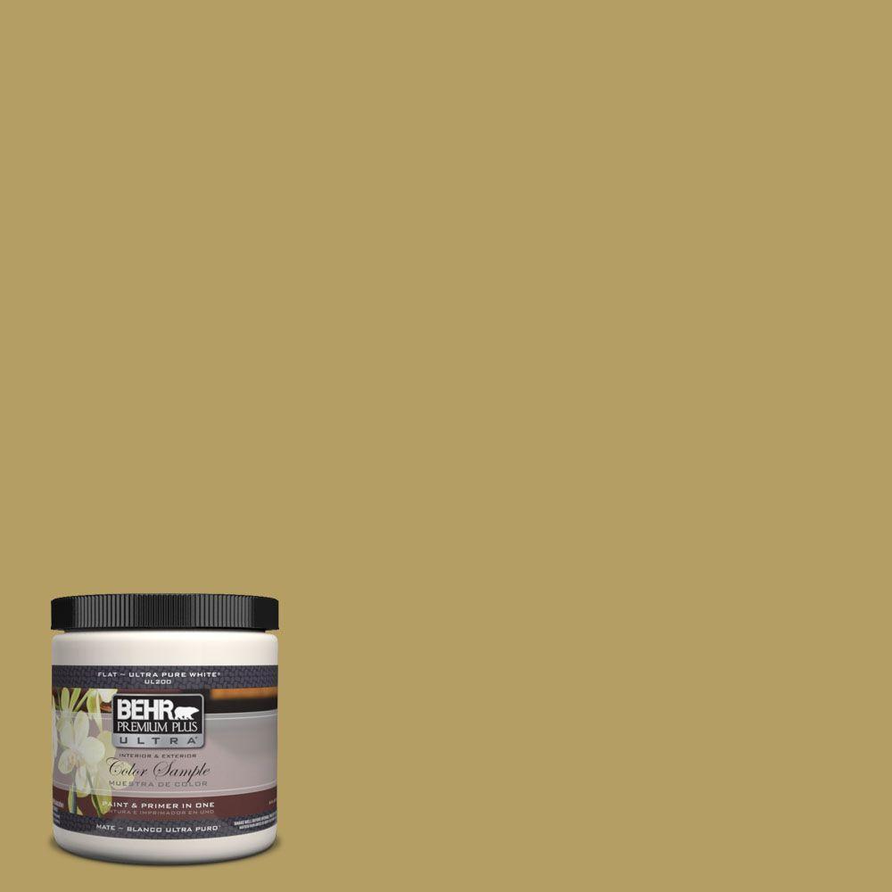 BEHR Premium Plus Ultra 8 oz. #UL180-6 Chameleon Interior/Exterior Paint Sample