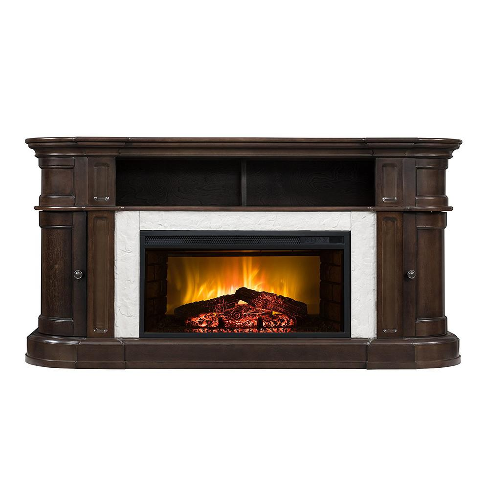 bold flame teres 60 in electric fireplace tv stand in espresso rh homedepot com tallow espresso electric fireplace bouganville espresso electric fireplace