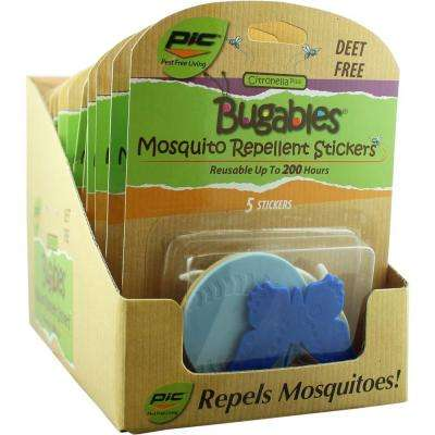 Bugables Repellent Stickers (Case of 12)