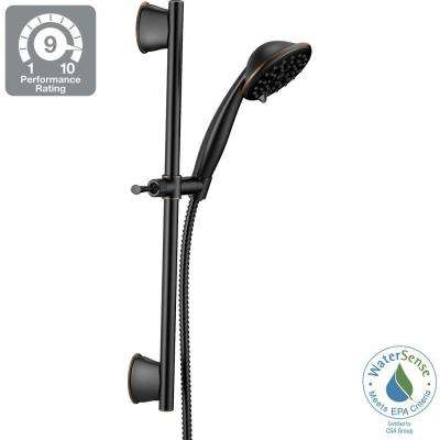 Porter 3-Spray Wall Bar Shower Kit in Oil Rubbed Bronze