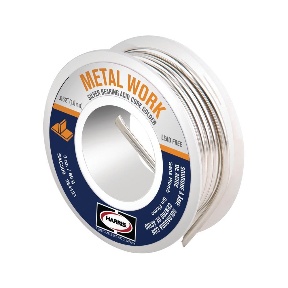 3 oz. Lead-Free Acid Core Solder Wire