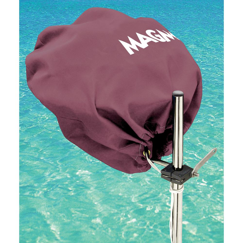 Marine Kettle Grill Original Size Cover and Tote Bag, Color: Burgundy