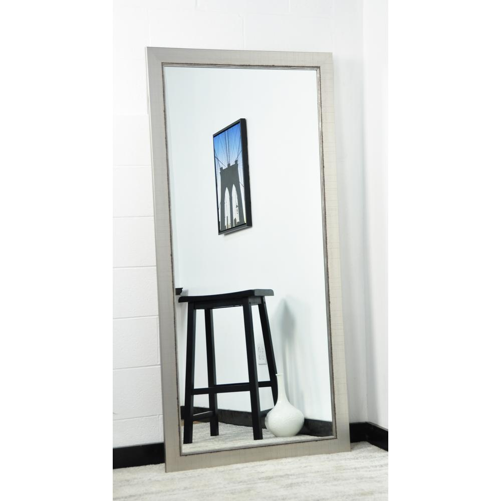 null silver vintage 315 in x 65 in tall mirror