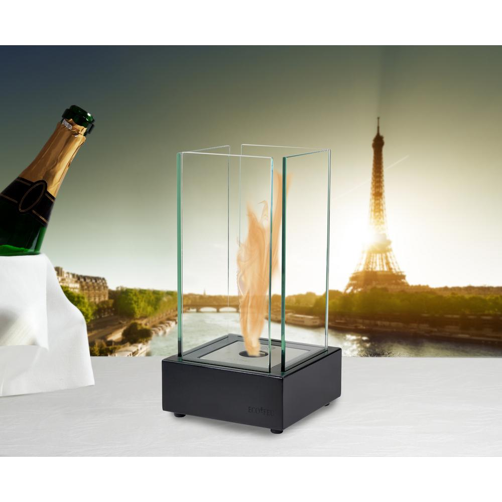 Cartier 7 in. Ethanol Tabletop Fireplace in Stainless Steel