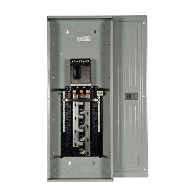 ES Series 150 Amp 24-Space 42-Circuit Main Breaker Indoor 3-Phase Load Center
