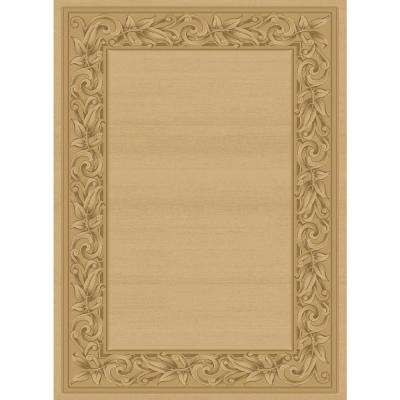 Elegant Embrace Cream 3 ft. x 8 ft. Runner Rug
