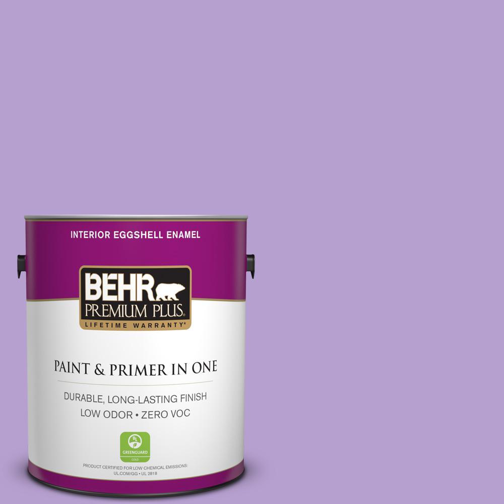 BEHR Premium Plus 1-gal. #P570-3 Flower Girl Eggshell Enamel Interior Paint