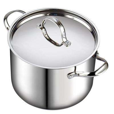 12 Qt. Stainless Steel Stock Pot
