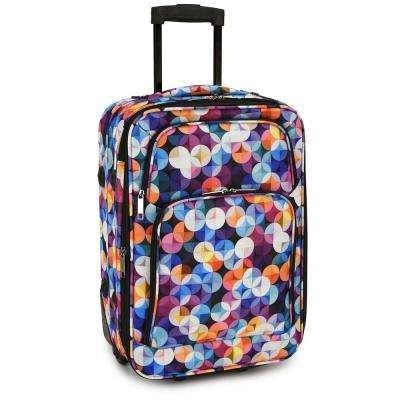 Gem Bubbles Carry-On Rolling Luggage