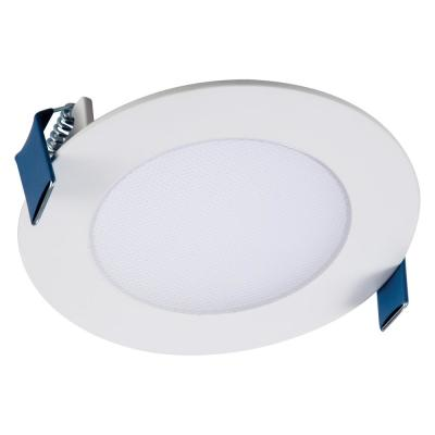 HLB4 Series 4 in. 2700K-5000K Tunable CCT Smart Integrated LED White Recessed Light with Round Trim (1-Quantity)