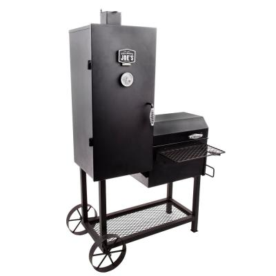 Bandera Offset Smoker and Charcoal Grill in Black