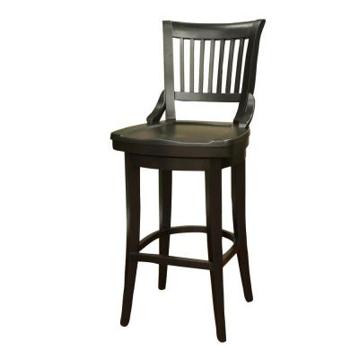 Liberty 34 in. Black Bar Stool
