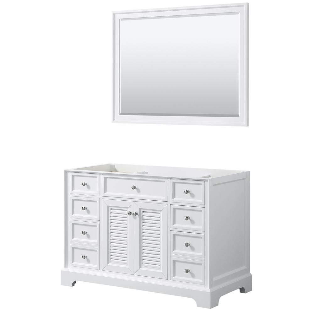 Tamara 48.5 in. Single Bathroom Vanity Cabinet Only with 46 in.