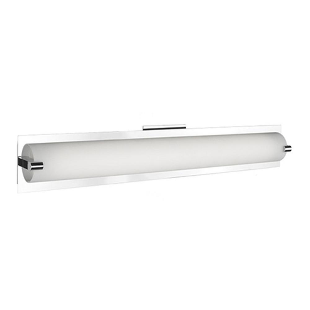 Unice 1-Light Brushed Nickel 60-Watt Equivalence Integrated LED Bath Light