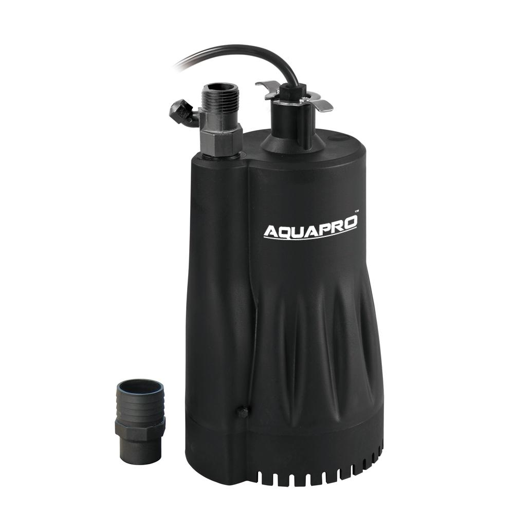 Aquapro 1 3 Hp Automatic Utility Pump Su250a The Home Depot