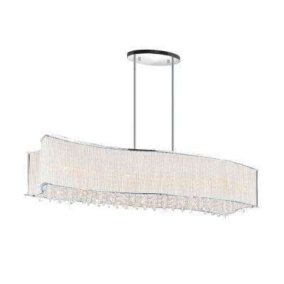 Elsa 8-Light Chrome Chandelier