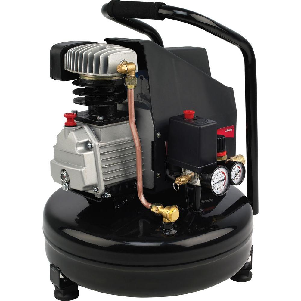null All Power 4-Gal. Portable Electric Pancake Air Compressor-DISCONTINUED