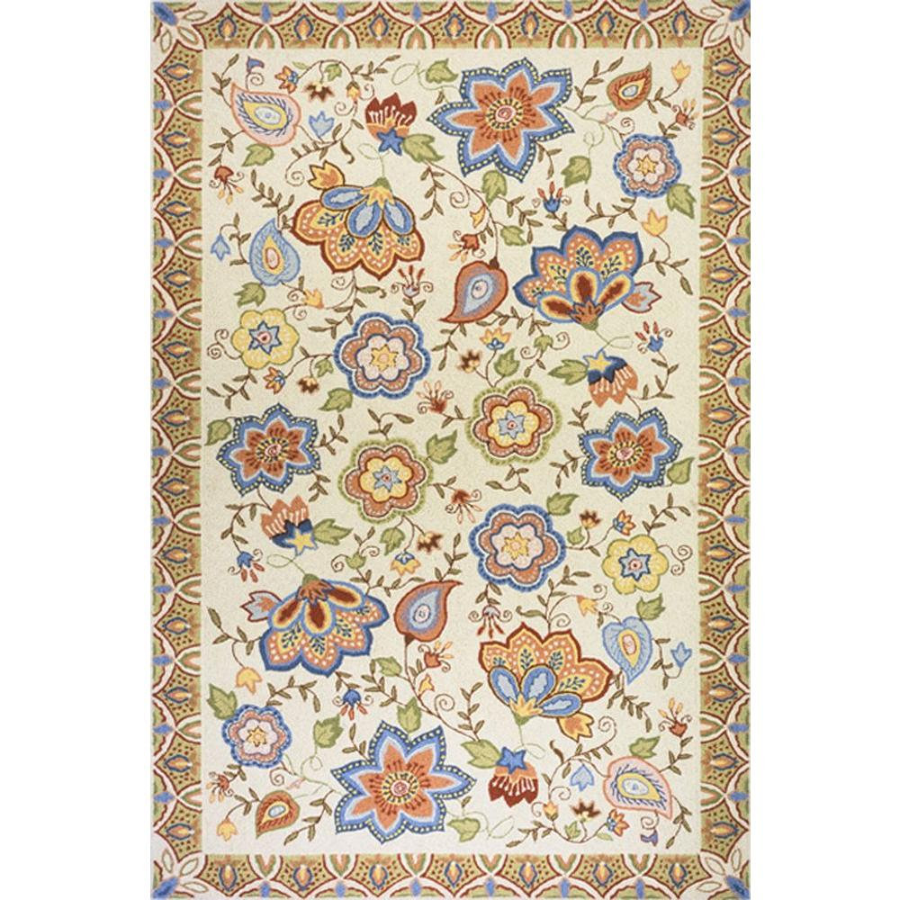 Momeni West Port SP-22 Beige 3 ft. 6 in. x 5 ft. 6 in. Indoor Area Rug