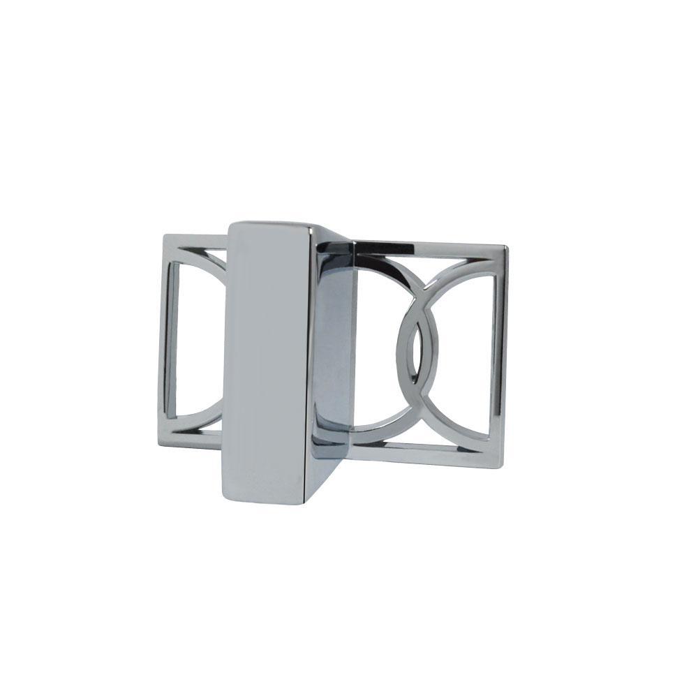Symone 2-1/10 in. Polished Chrome Cabinet Knob