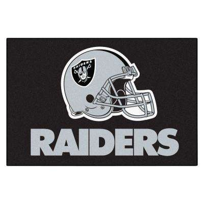 Oakland Raiders 2 ft. x 3 ft. Area Rug
