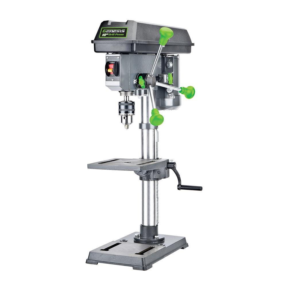 10 in. 5-Speed Benchtop Drill Press with Light