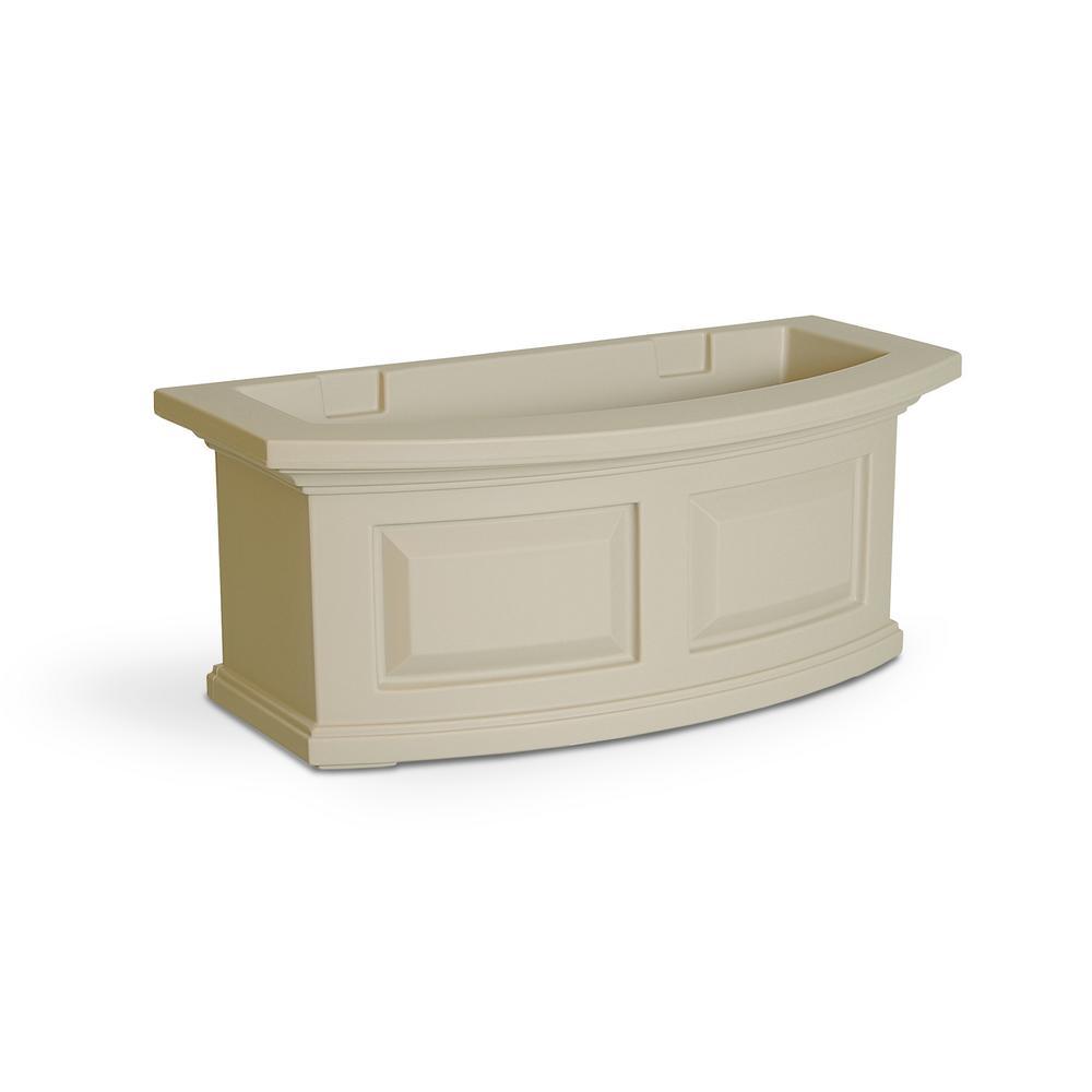 2 ft. Nantucket Clay Plastic Window Box