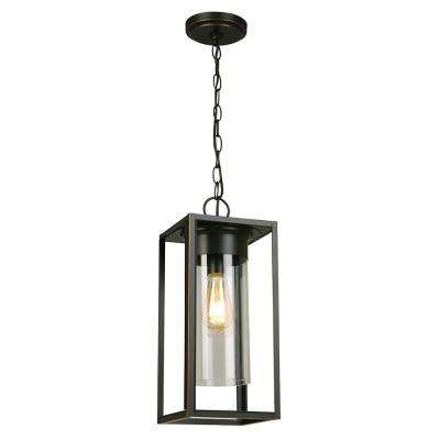 Walker Hill Oil Rubbed Bronze 1-Light Hanging Light