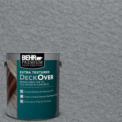 1 gal. #PFC-63 Slate Gray Extra Textured Solid Color Exterior Wood and Concrete Coating
