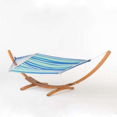 Ezra 13.67 ft. Free Standing Fabric Hammock with Stand