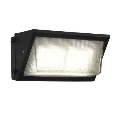 750-Watt Equivalent Integrated Outdoor LED Wall Pack, 11500 Lumens, 4000K Dusk to Dawn Outdoor Security Light