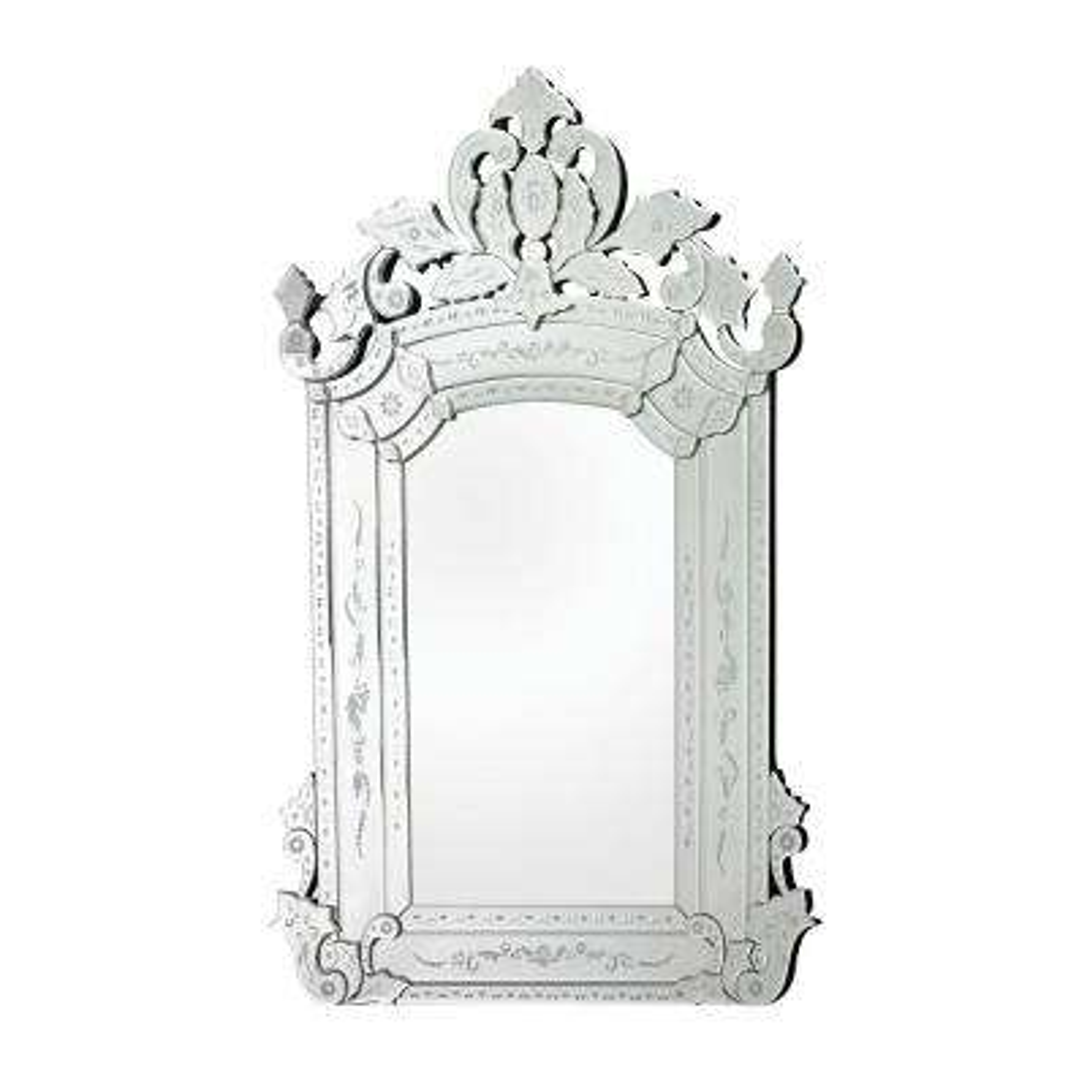 Bolsover 58 in. x 38 in. Venetian Glass Framed Mirror