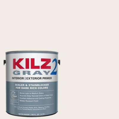 All Purpose 1 gal. Gray Interior/Exterior Multi-Surface Primer, Sealer, and Stain Blocker