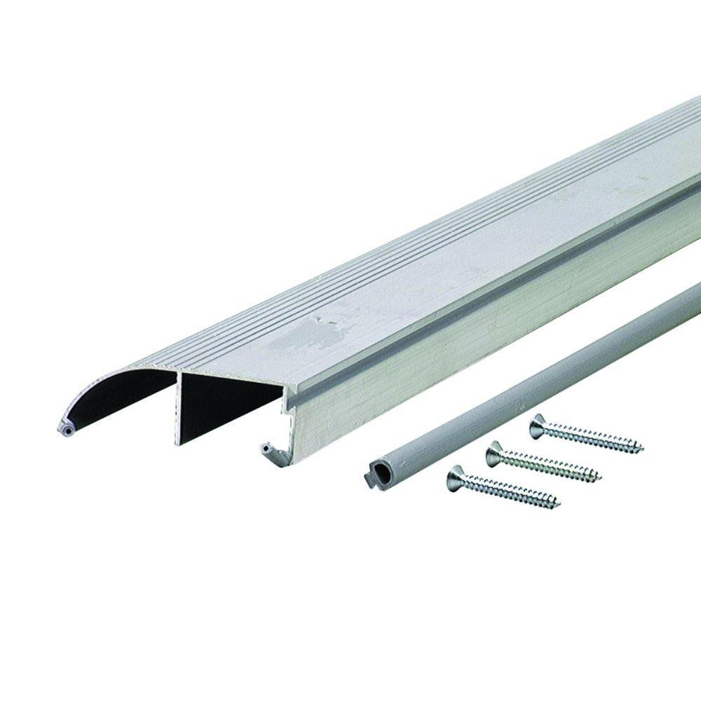 High 3-3/8 in. x 48 in. Aluminum Bumper Threshold