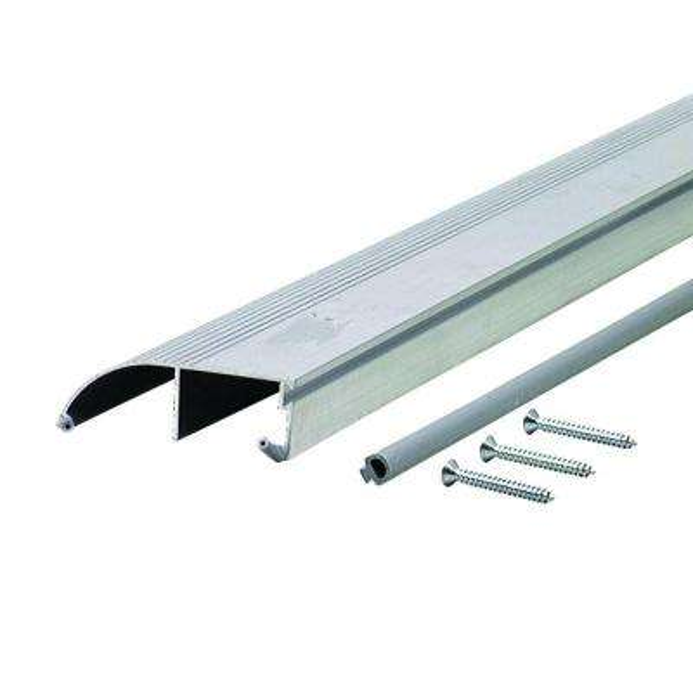 High 3-3/8 in. x 96 in. Aluminum Bumper Threshold
