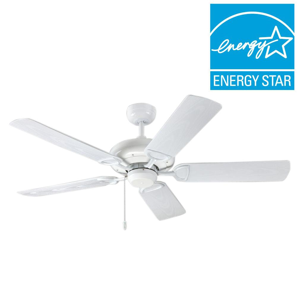 Troposair proseries deluxe builder 52 in pure white outdoor ceiling troposair proseries deluxe builder 52 in pure white outdoor ceiling fan aloadofball Image collections