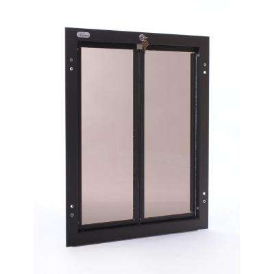 16 in. x 23.75 in. Chew Proof XLarge Bronze Wall Mount Dog Door