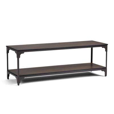 Nantucket Walnut Brown 54 in. TV Stand