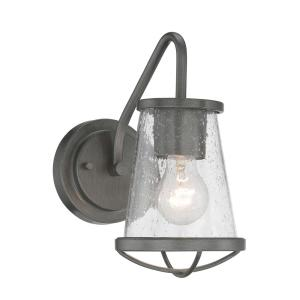 Designers Fountain Darby 1-Light Weathered Iron Wall Sconce by Designers Fountain