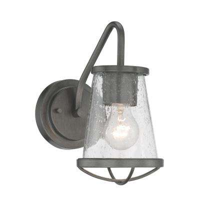 Darby 1-Light Weathered Iron Wall Sconce